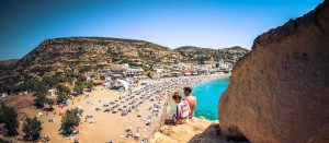 matala heraklion crete beach