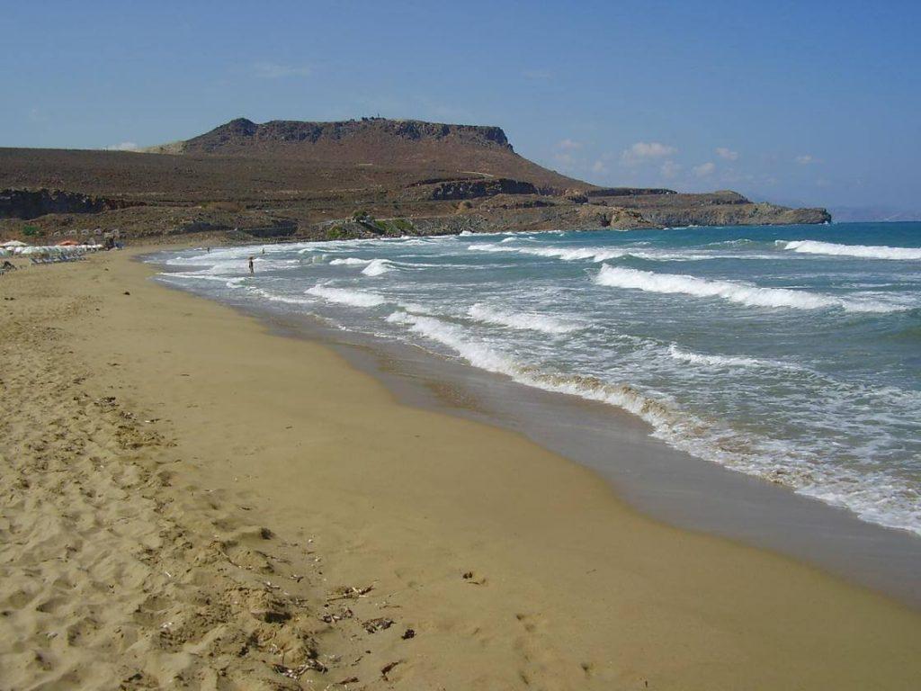 vathianos kambos heraklion crete beach