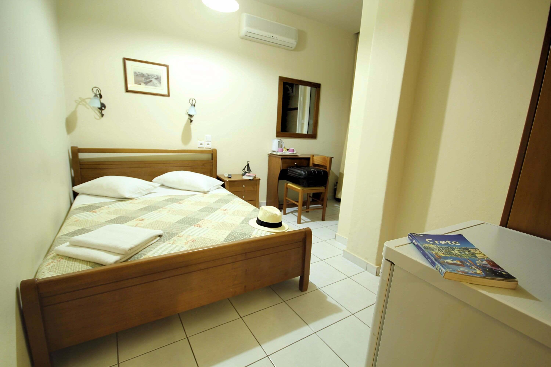 double room with double bed mirabello hotel heraklion crete