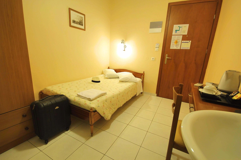 Single room with external bathroom mirabello hotel heraklion crete
