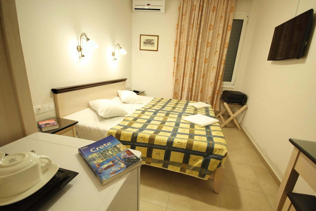double economy room with two beds mirabello hotel heraklion crete